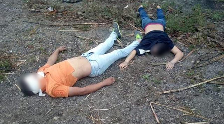 Arrojan cadáveres de dos jovencitos en la frontera de Oaxaca con Veracruz | El Imparcial de Oaxaca