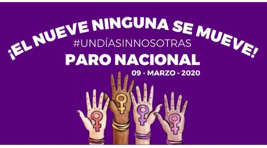 Se suman más instituciones oaxaqueñas al paro nacional #UnDíaSinNosotras
