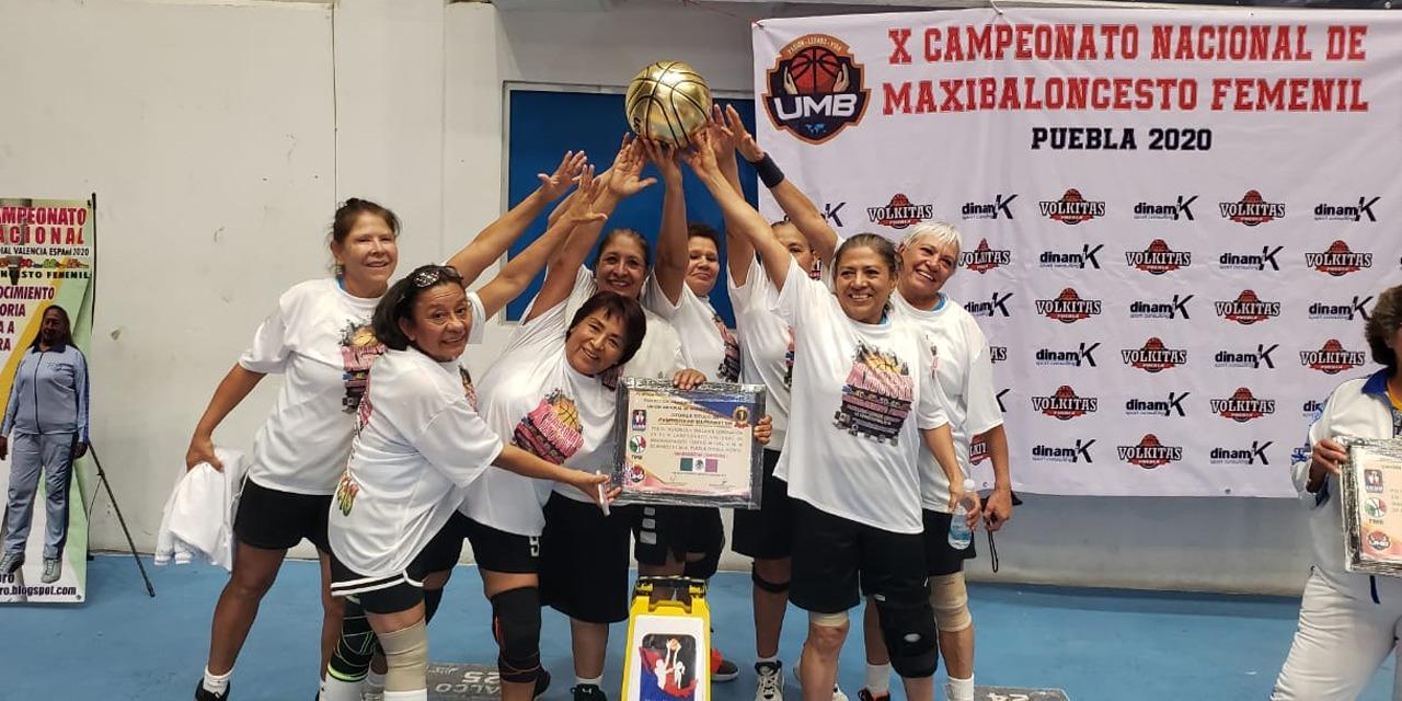 Oaxaqueñas son campeonas del Nacional de Maxibaloncesto | El Imparcial de Oaxaca