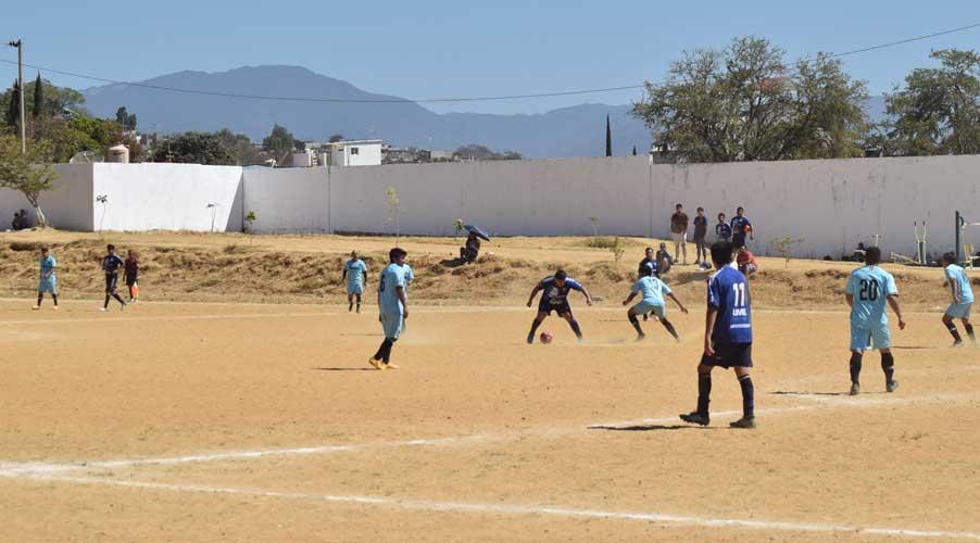 Nereidas y Santa Cruz, a la final de la liga de futbón de Santa Cruz Xoxocotlán