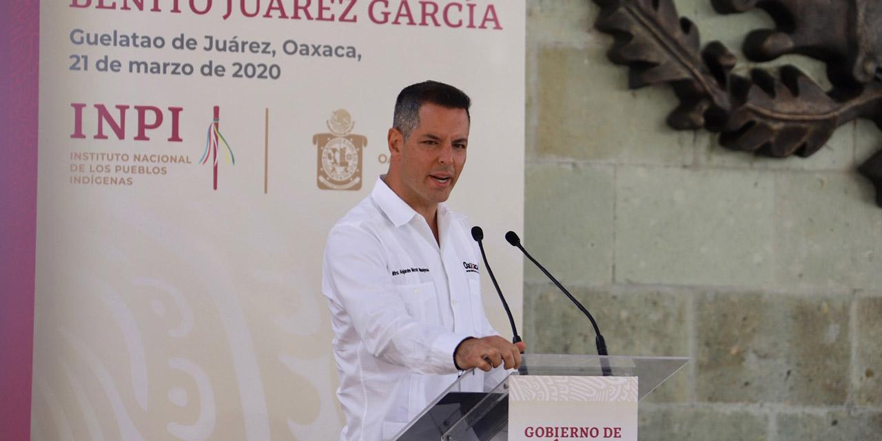 """No sacamos raja política del Covid"": Murat | El Imparcial de Oaxaca"