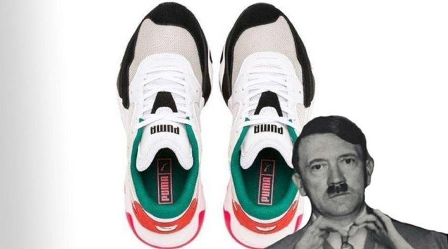 En redes ven el rostro de Hitler en nuevos tenis Puma   El Imparcial de Oaxaca