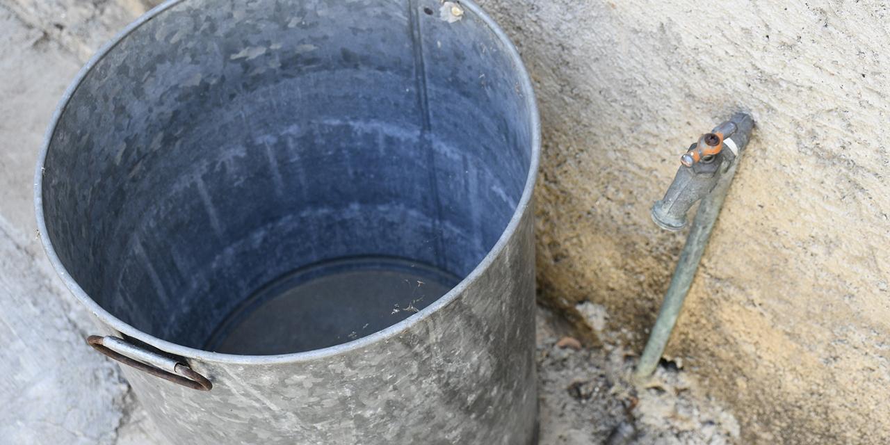 Más de 2 millones de oaxaqueños sin agua para enfrentar al Coronavirus