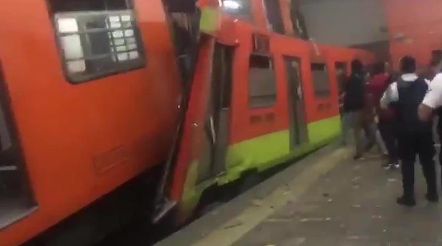 Certificadora alemana hará peritajes tras choque de trenes del Metro | El Imparcial de Oaxaca