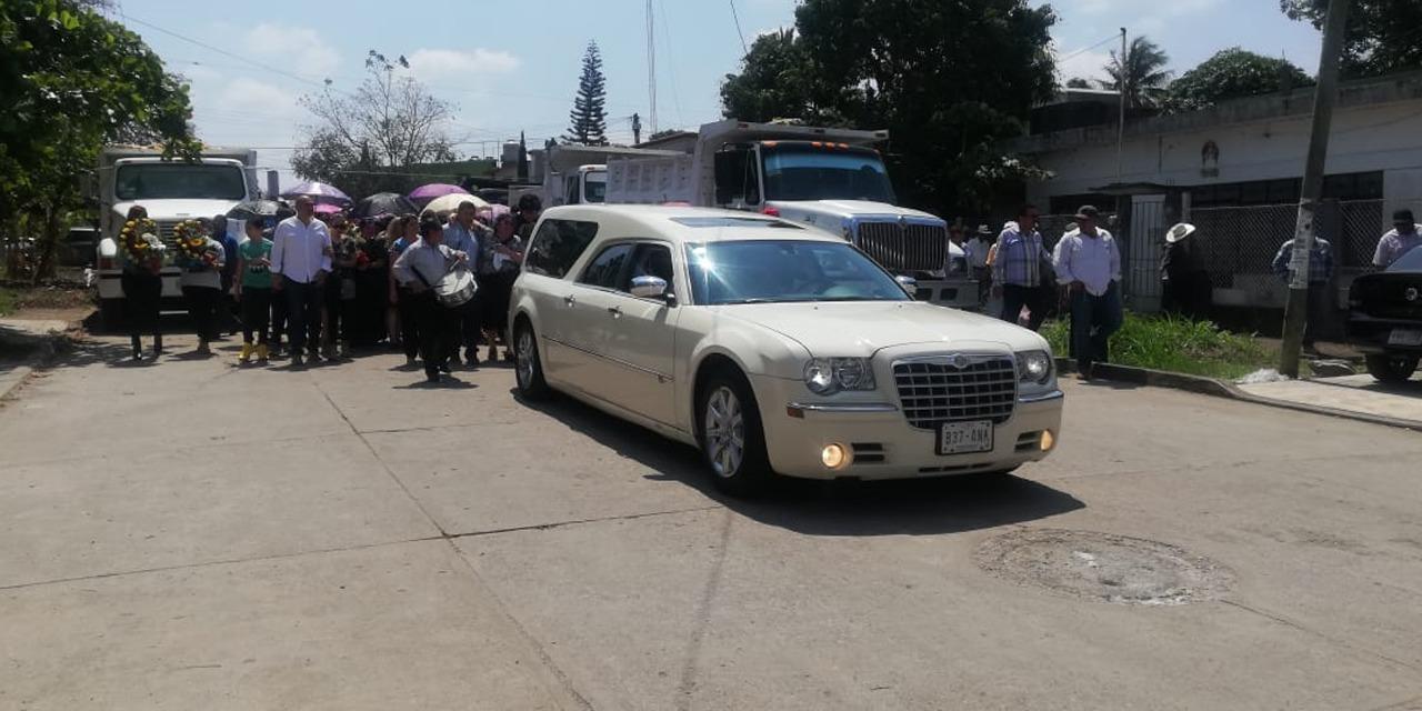 Dan el último adiós a Franco Saynes Núñez   El Imparcial de Oaxaca