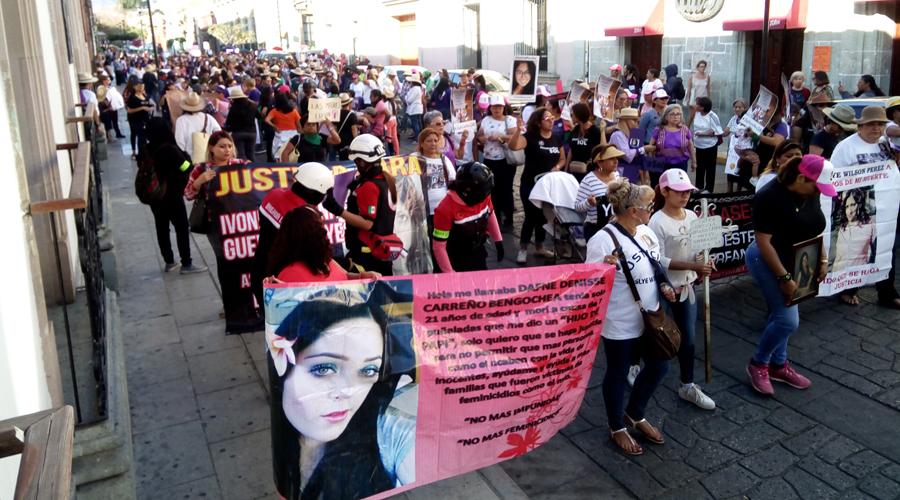 Miles de mujeres toman las calles contra la violencia | El Imparcial de Oaxaca