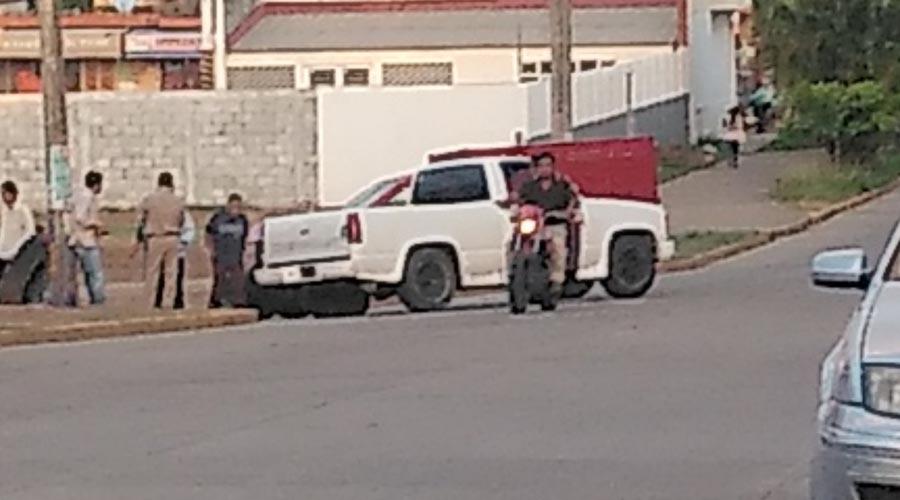 Se impactan camionetas en Matías Romero, Oaxaca | El Imparcial de Oaxaca