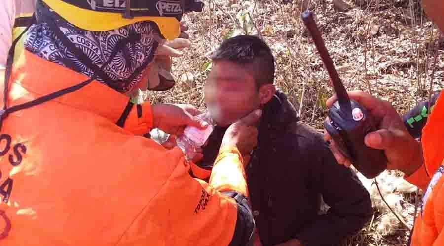 Encuentran a adolescente  que desapareció en Huayapam