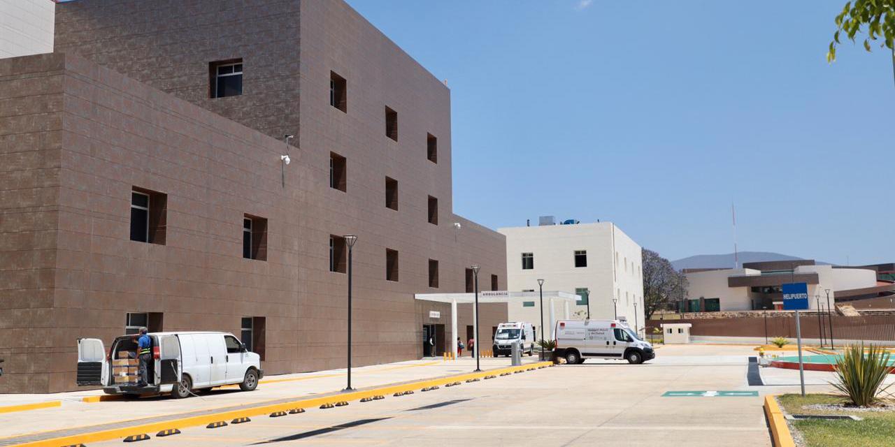 Con 30 camas, habilitan hospital para combatir Covid-19 en Oaxaca
