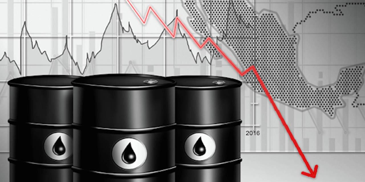 Petróleo sufre desplome en precio; en riesgo producción de Pemex | El Imparcial de Oaxaca