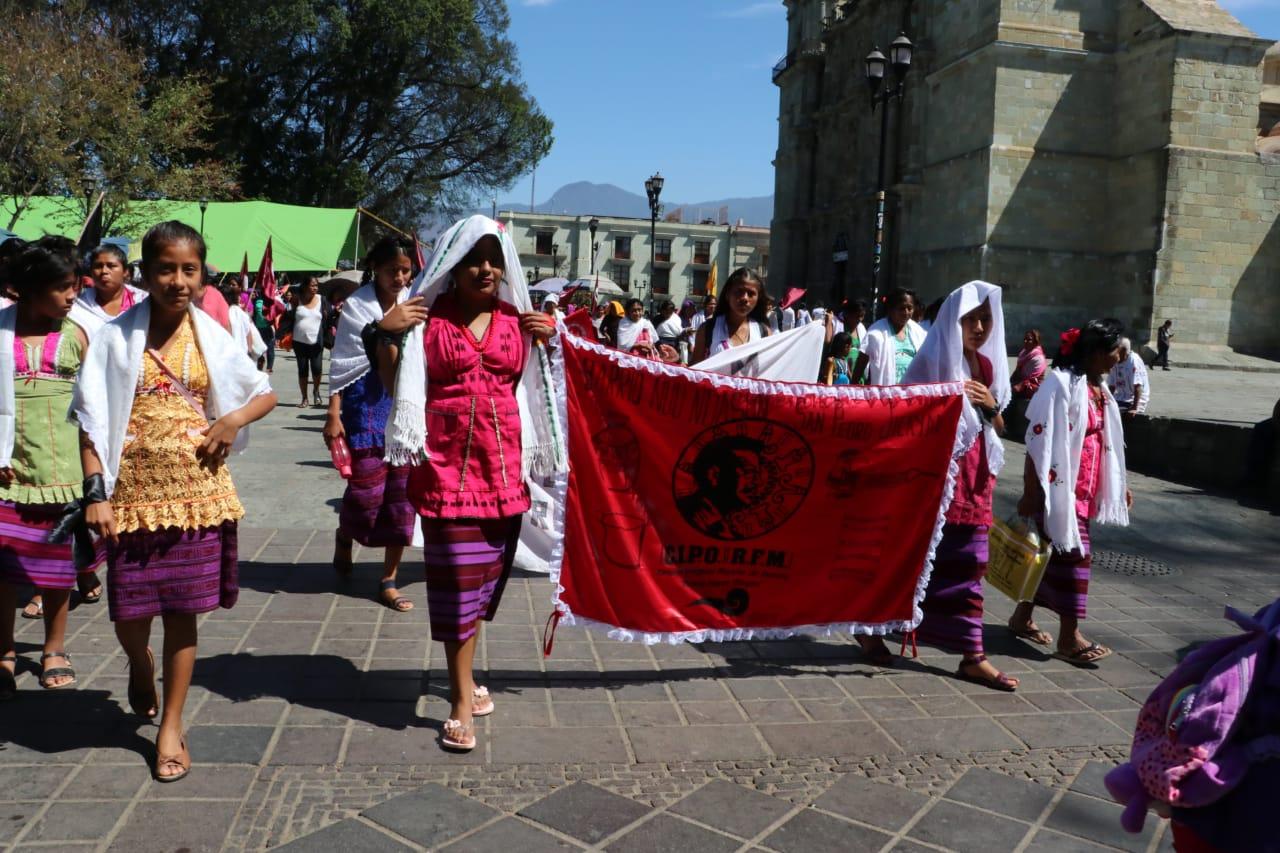 Marchan campesinas e indígenas en Oaxaca por Día Internacional de la Mujer | El Imparcial de Oaxaca