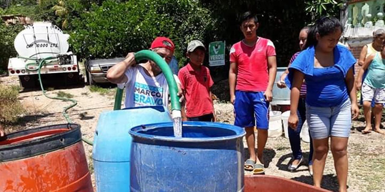 Apoyan con pipas por escasez de agua durante pandemia en Tuxtepec   El Imparcial de Oaxaca