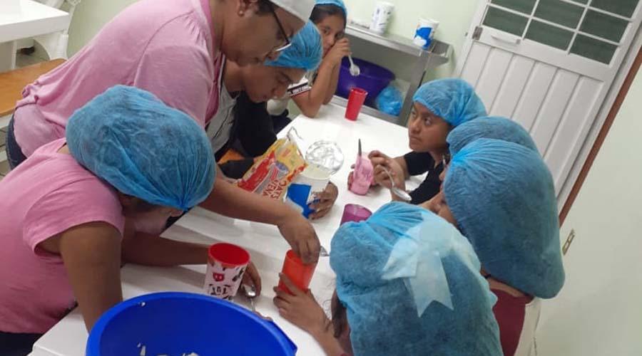 Con un taller, los niños aprendieron la importancia de la alimentación