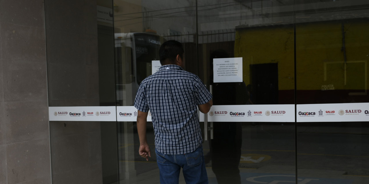 Paralizan salud en Oaxaca por temor a Covid-19 | El Imparcial de Oaxaca