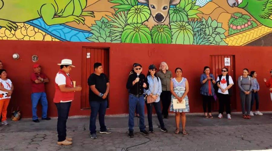 Con mural expresan la riqueza cultural de la Cañada | El Imparcial de Oaxaca