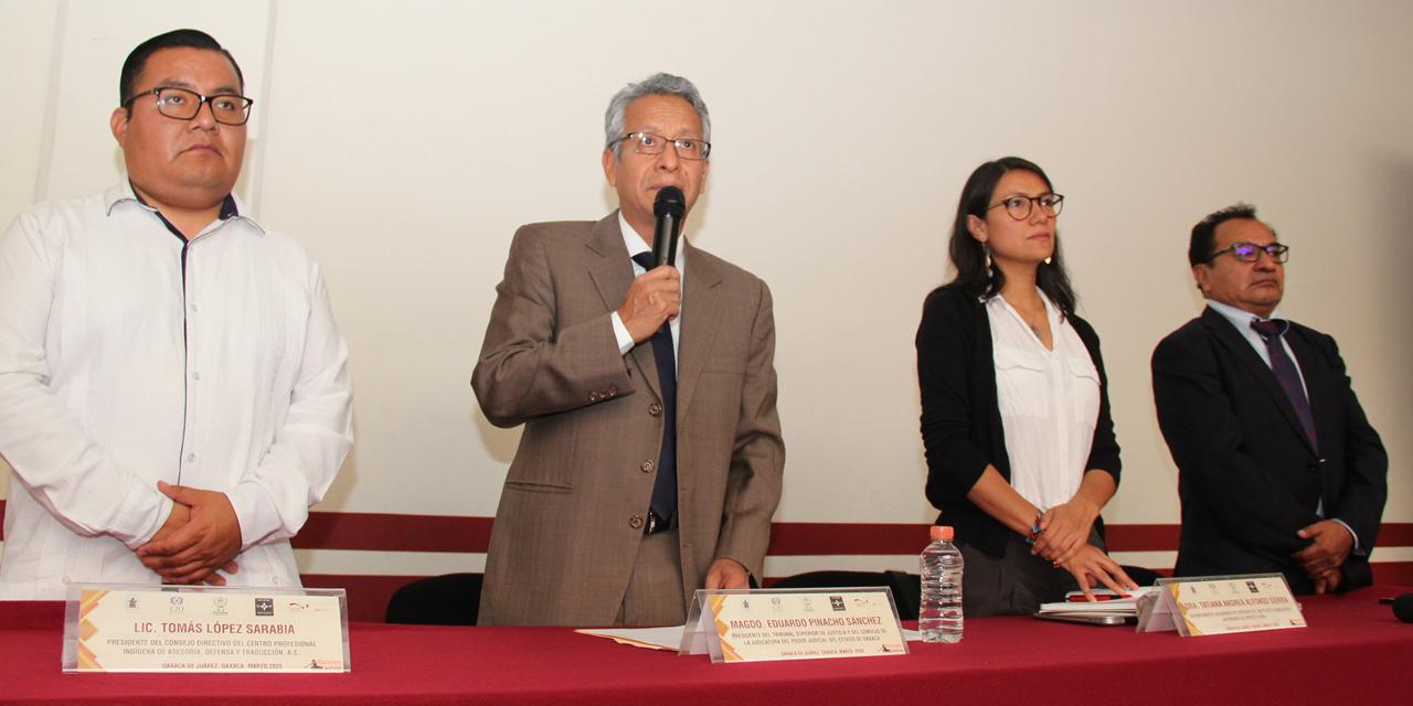 Inicia PJE y el Cepiadet seminario especializado en justicia pluralista | El Imparcial de Oaxaca