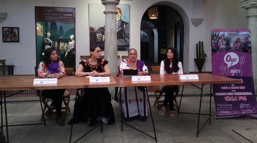 Crean Oye Mujer para  visibilizar a mujeres