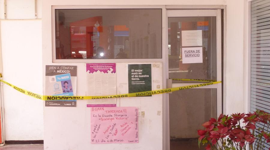 Denuncian pésimo servicio del cajero automático en Cuicatlán, Oaxaca | El Imparcial de Oaxaca