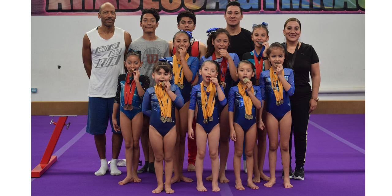 Selección de gimnasia brilla en Copa Agepac