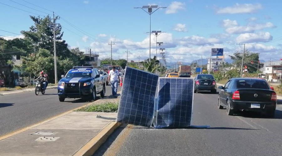 Paneles solares representan riesgo en Salina Cruz | El Imparcial de Oaxaca