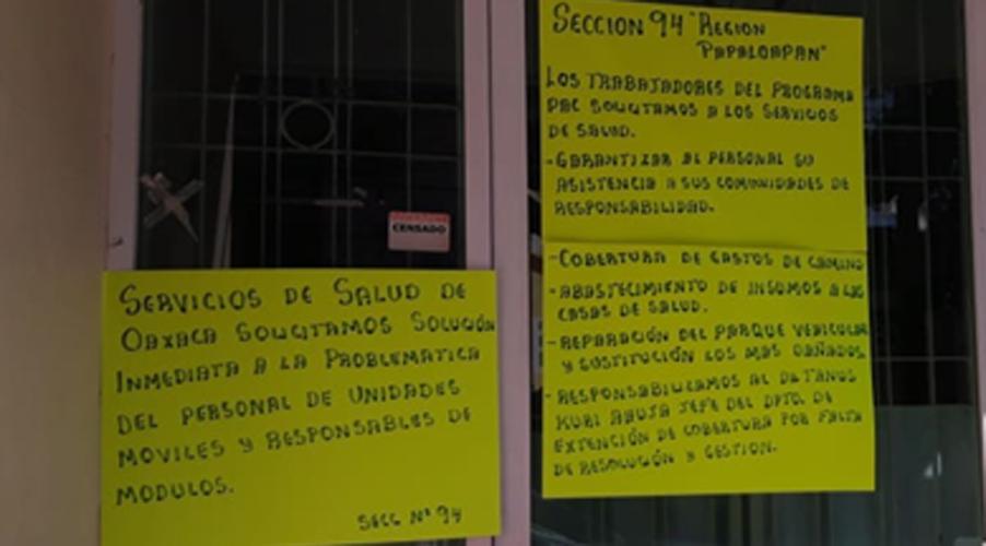 En Tuxtepec, siguen tomadas  las oficinas de la  Jurisdicción 03 | El Imparcial de Oaxaca