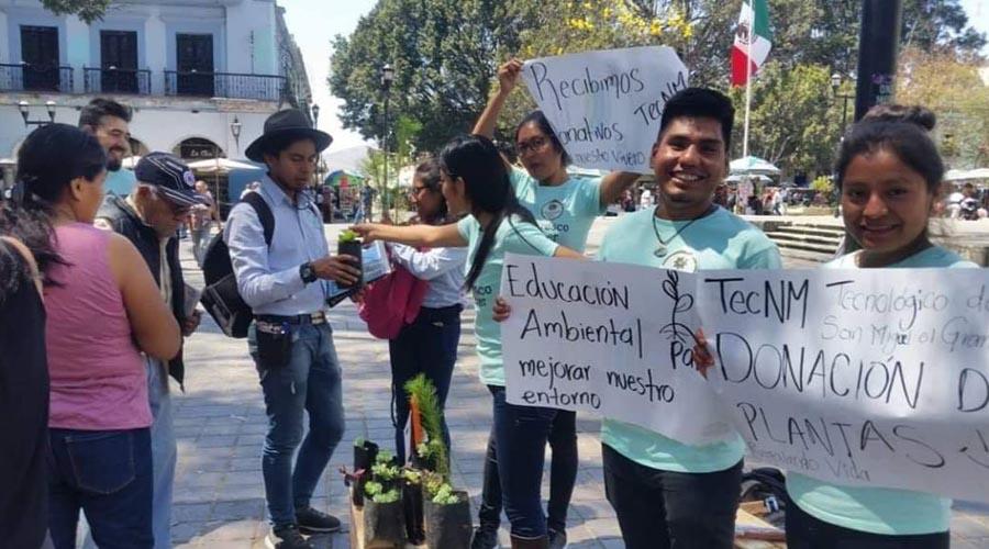 Estudiantes de la Mixteca realizan campañas para fomentar la educación ambiental | El Imparcial de Oaxaca