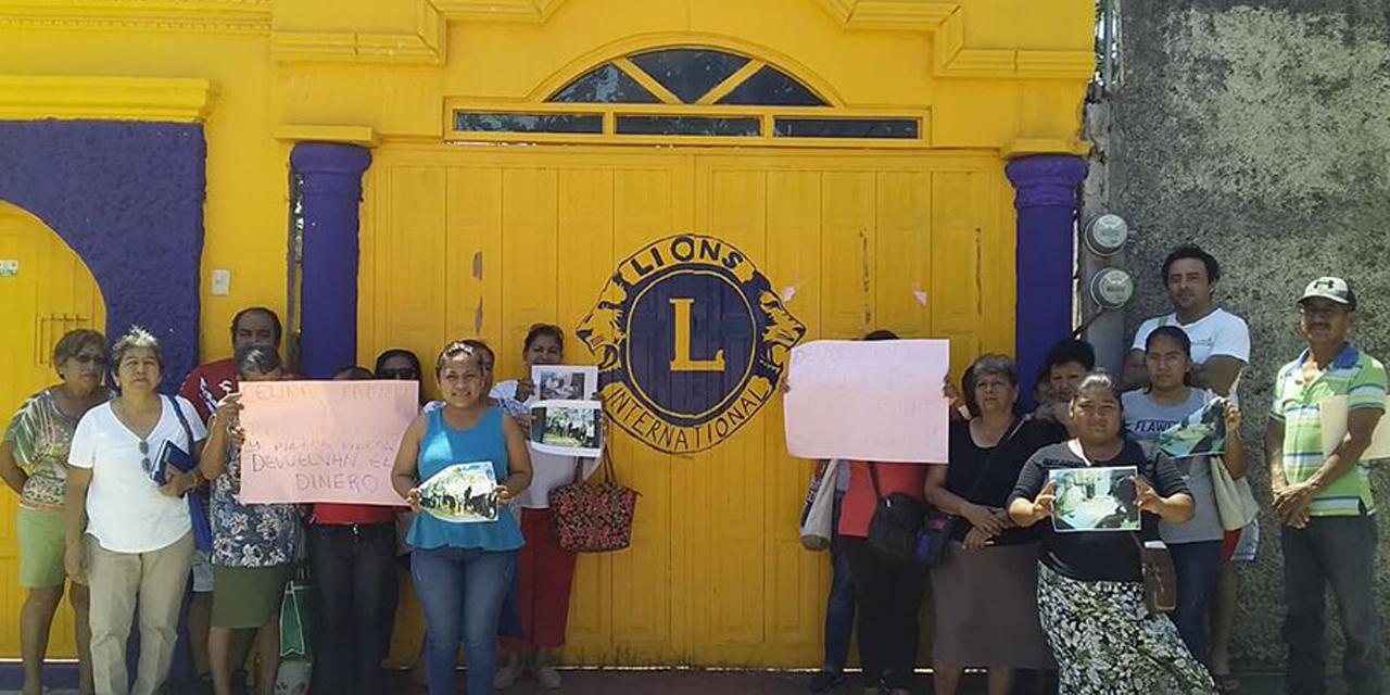 Denuncian un presunto fraude en Club de Leones de Tehuantepec | El Imparcial de Oaxaca