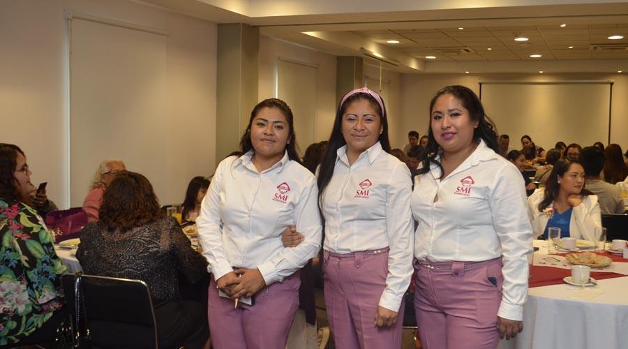 Un grupo de ingenieras oaxaqueñas recibieron el reconocimiento de la Sociedad Mexicana de Ingenieros