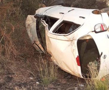 Fallece profesor tras volcadura en carretera Juchitán-Unión Hidalgo