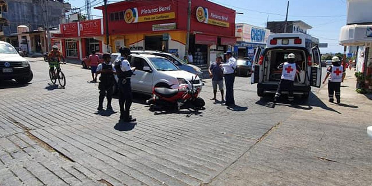 Aparatoso accidente en Puerto Escondido | El Imparcial de Oaxaca