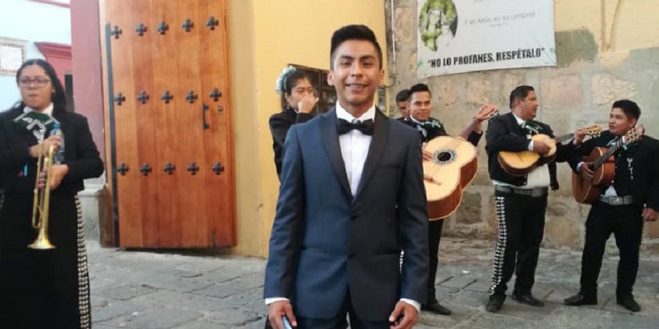 Luis, culminó sus estudios   El Imparcial de Oaxaca