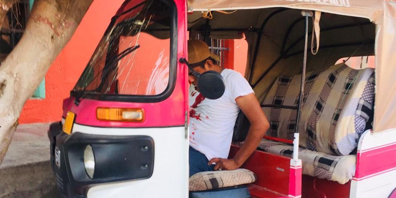 Mototaxista en Juchitán choca en estado de ebriedad | El Imparcial de Oaxaca