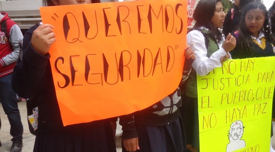Mujeres piden erradicar  la violencia en Tlaxiaco, Oaxaca