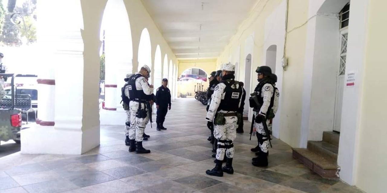 Guardia Nacional llega a Nochixtlán para apoyar a la población | El Imparcial de Oaxaca