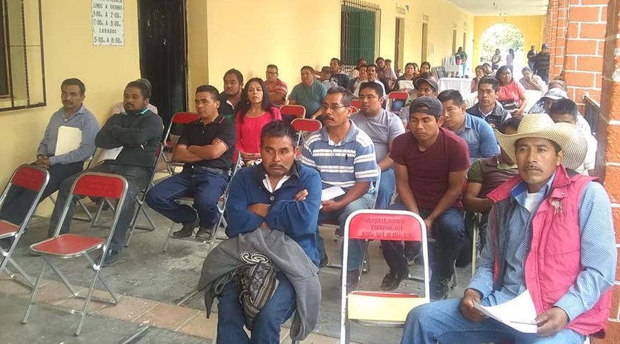 Ratifican en San Martín Toxpalan triunfo de autoridades municipales | El Imparcial de Oaxaca