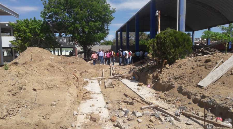 Reconstrucción de aulas en el Istmo, a paso lento   El Imparcial de Oaxaca