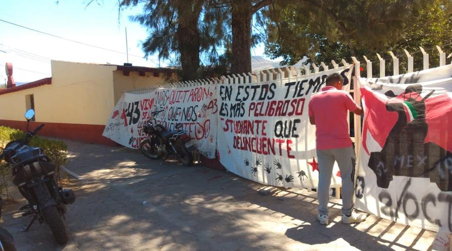 Retoman paro normalistas de Huajuapan de León, Oaxaca | El Imparcial de Oaxaca