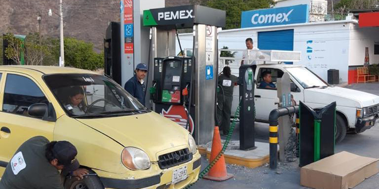 Afecta a gasolineros la poca movilidad