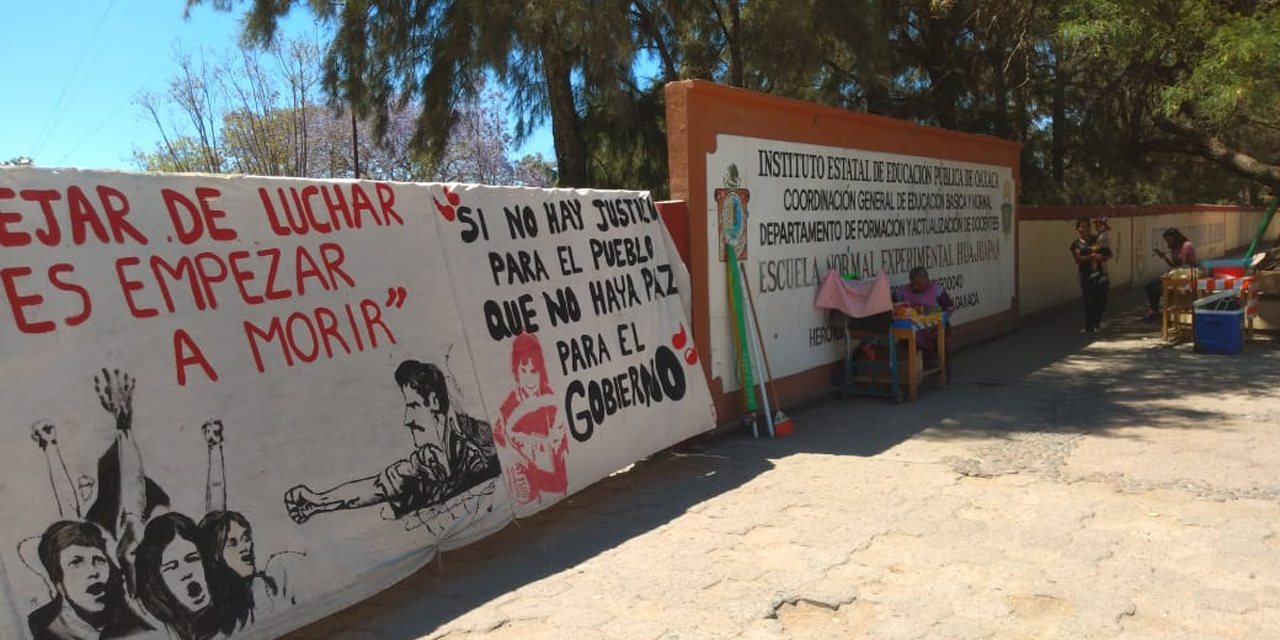 Prevén los normalistas movilizarse a la capital   El Imparcial de Oaxaca