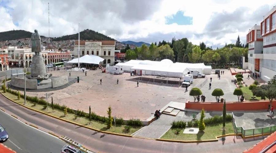 Con hospital inflable gobierno de Hidalgo hará frente al Coronavirus   El Imparcial de Oaxaca