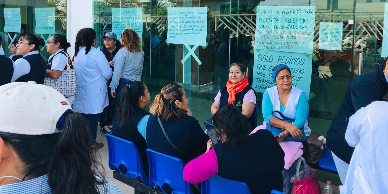 Levantan paro en Hospital de Juchitán | El Imparcial de Oaxaca