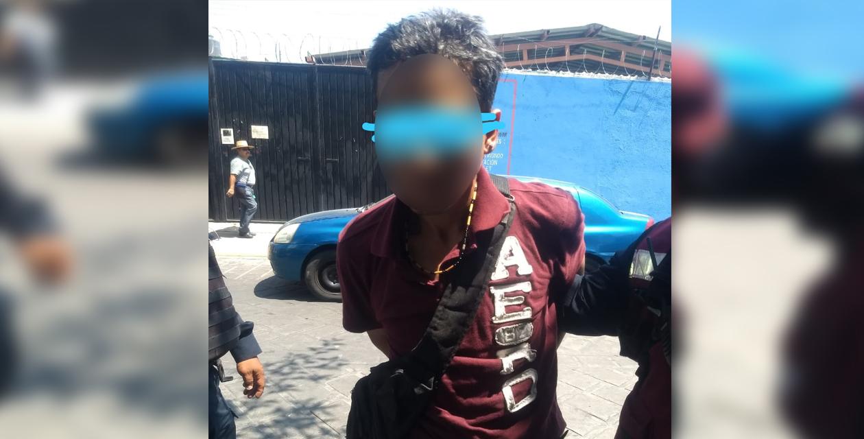 Lo cachan 'cristaleando'   El Imparcial de Oaxaca