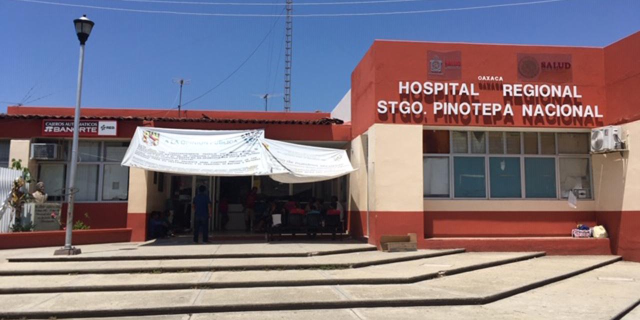 Ante Covid-19, 'blindan' hospital de Pinotepa | El Imparcial de Oaxaca