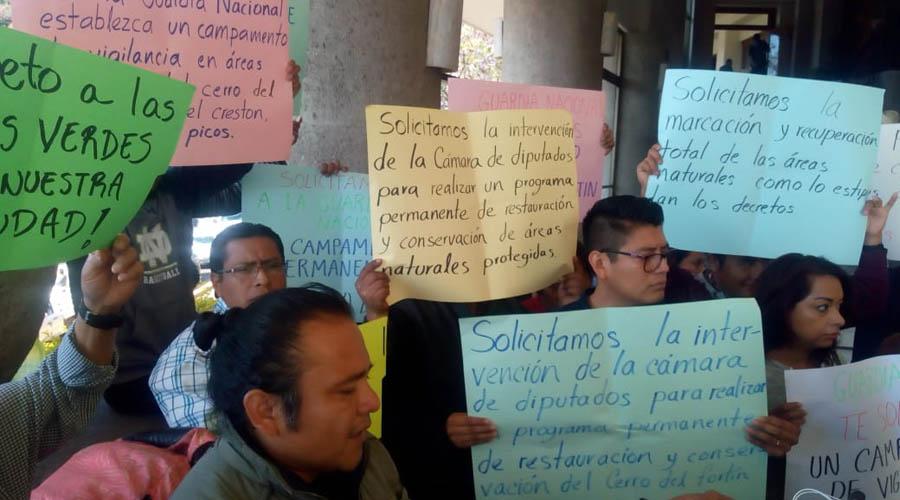 Piden vecinos que la GN resguarde los cerros de la ciudad | El Imparcial de Oaxaca