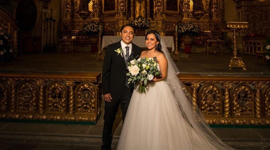 Viviana y José Ramón llegaron al altar