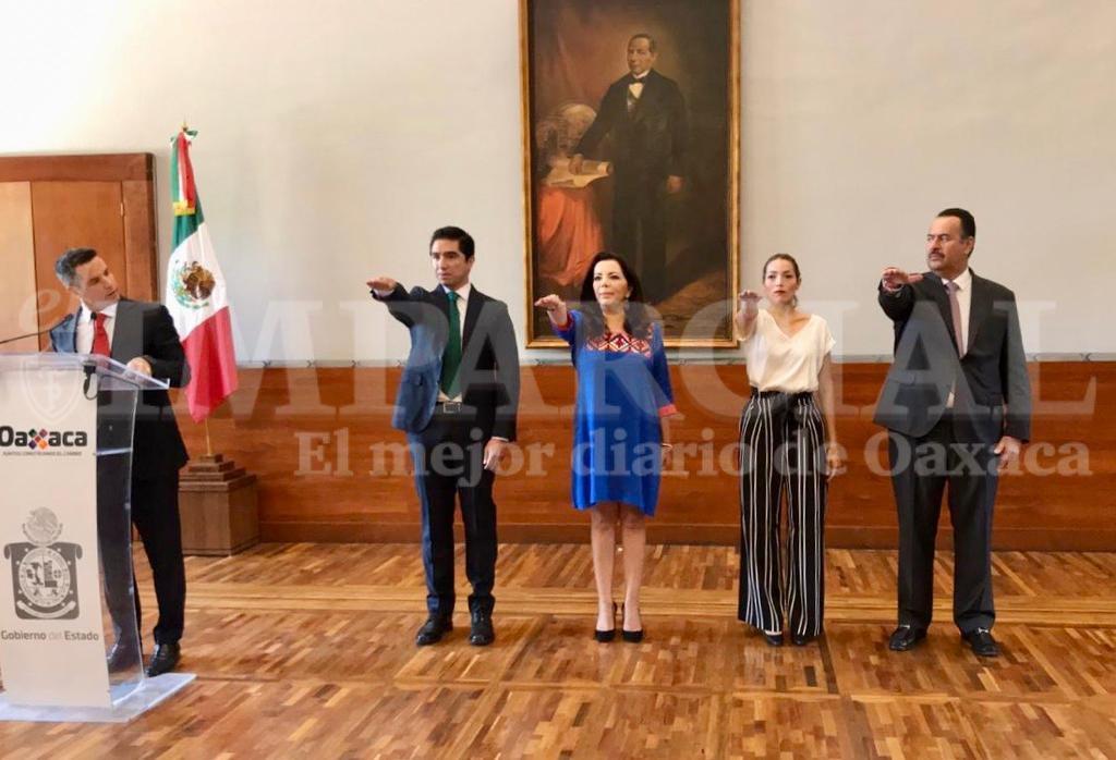 Presenta Alejandro Murat nuevos integrantes de su gabinete | El Imparcial de Oaxaca