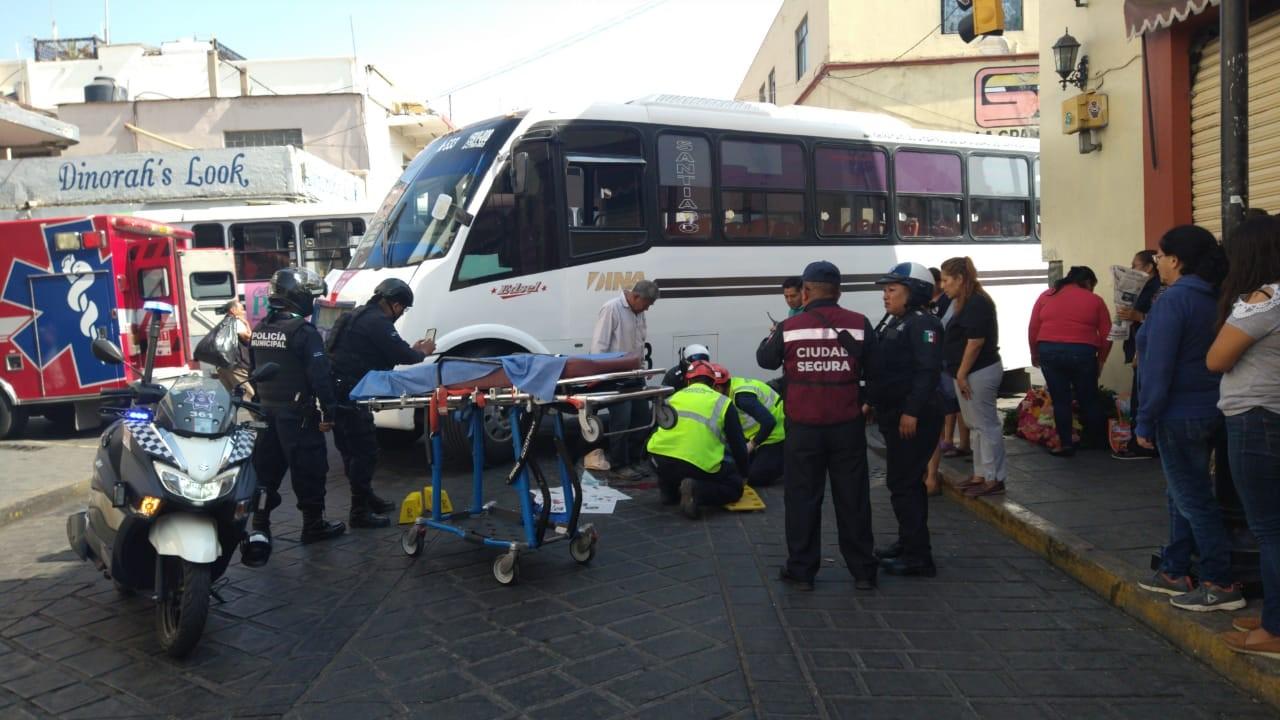 Cafre arrolla a adulta mayor en pleno centro histórico de Oaxaca   El Imparcial de Oaxaca