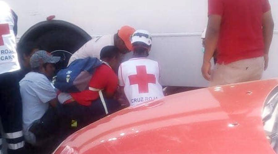 Urbanero le pasa camión encima a un 'diablero' | El Imparcial de Oaxaca