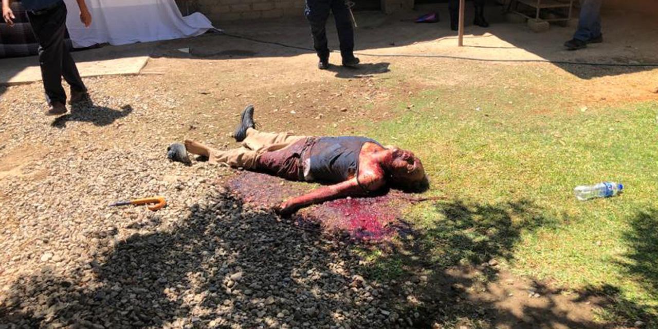 Mata a su padre con unas tijeras en Santo Domingo Tomaltepec | El Imparcial de Oaxaca