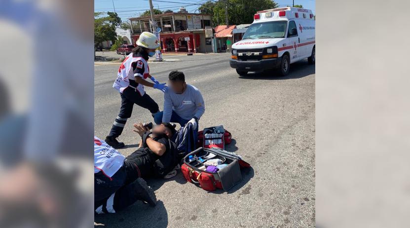 Taxista atropella a un estudiante; ruletero se da a la fuga | El Imparcial de Oaxaca
